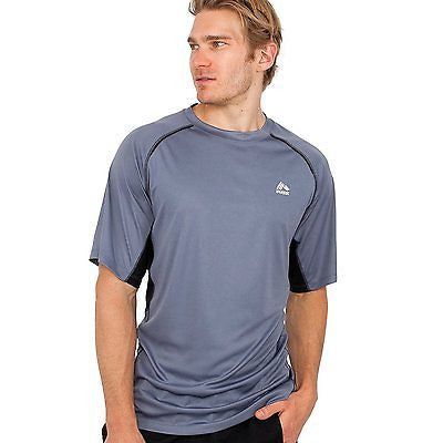RBX Active Mens Size Small X-Dri Performance T-Shirt, Gray