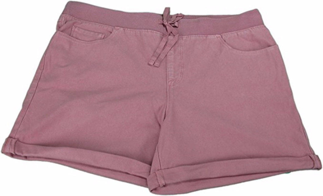 Tint Jeans Ladies Large The Haven Low Rise Knit Shorts, Melrose