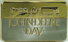 "John Deere 1988 ""John Deere Day"" Belt Buckle, Gold/Silver"