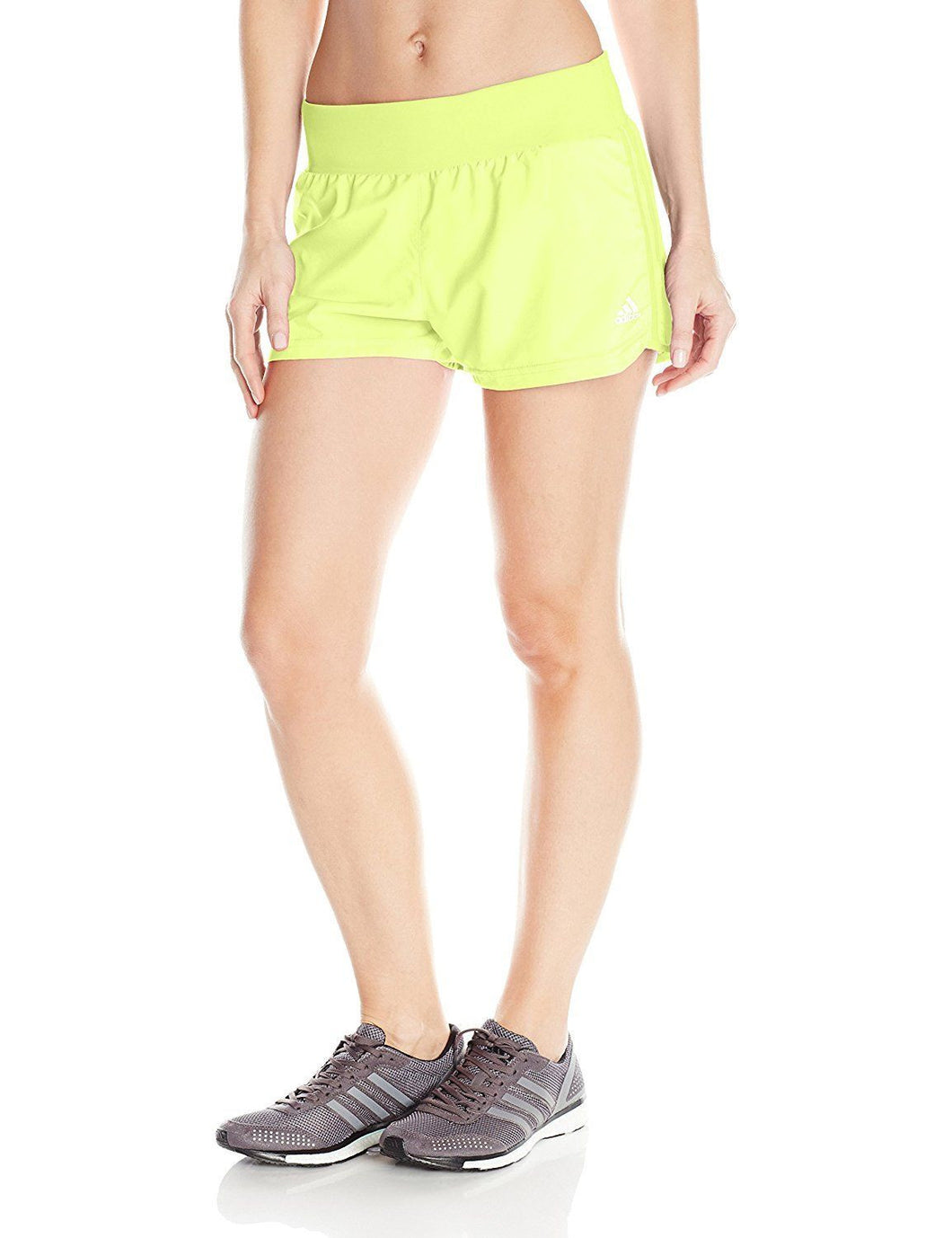 adidas Performance Women's Mia Shorts, Frozen Yellow