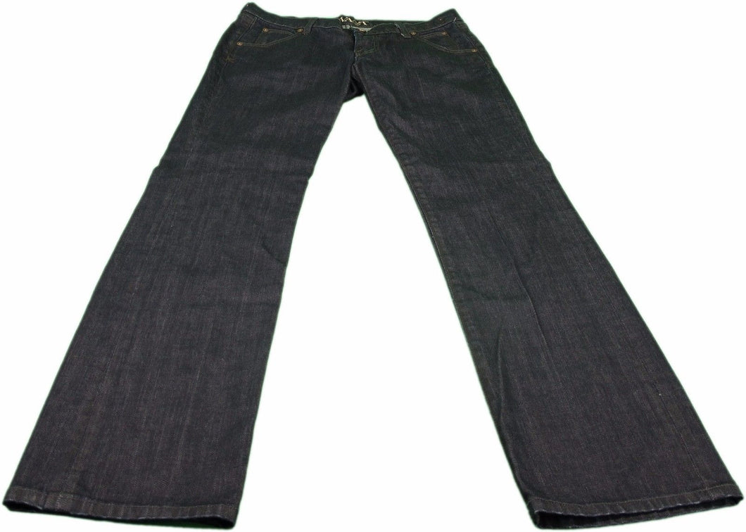 Kova & T Christina Denim Ladies Size 27 Straight Leg Jeans, Dark Blue