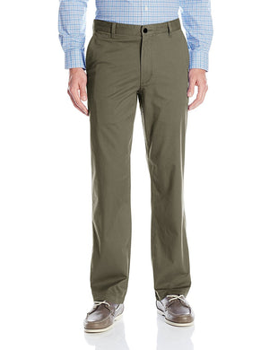Dockers Mens Size 38 x 34 Comfort Waist Straight Fit Pant, Wash Khaki Olive