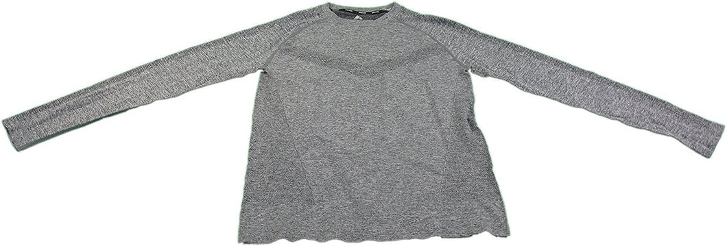 RBX Active Men's Small Long Sleeve Compression Shirt Steel Gray Heather