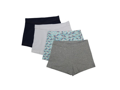 Members Mark 4-Pack Girls Size 14/16 Cart Wheel Shorts, Assorted
