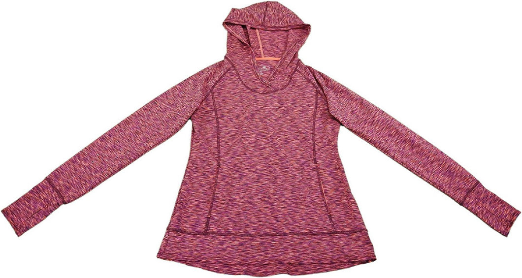 Tangerine Womens Size Small Pullover Sweater w/Hood, Red