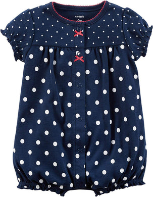 ffe8be30932 Carter s Baby Girls Size 3 Months Strawberry Snap-Up Romper