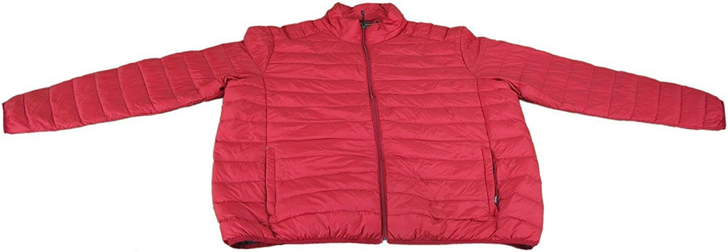 Hawke & Co. Pro Series Men's X-Large Ultra Light Down Packable Coat, Chilipepper