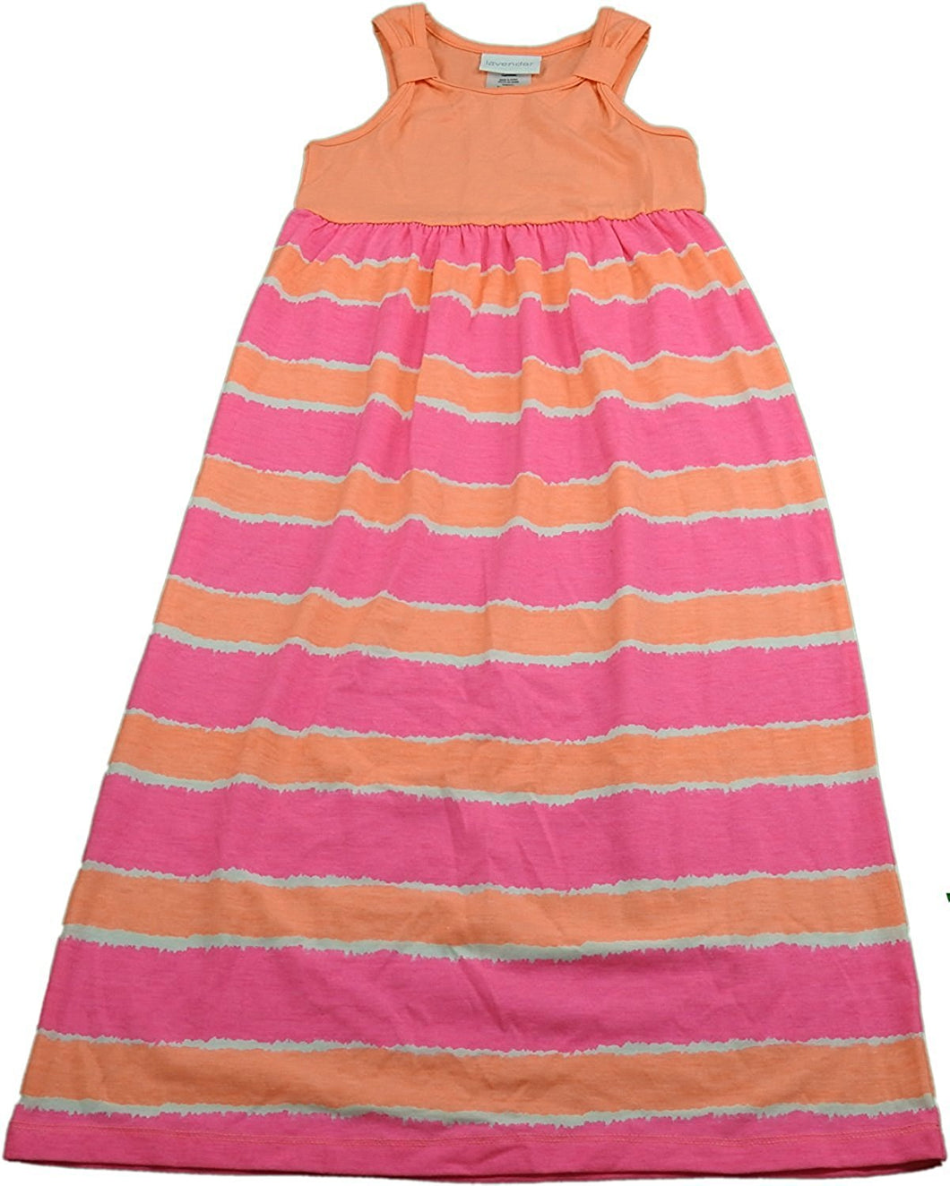 Lavender By Us Angels Girls Size 4/5 Sleeveless Dress, Peach