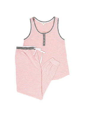 Layla Womens 2-Piece Tank & Jogger Sleep Set