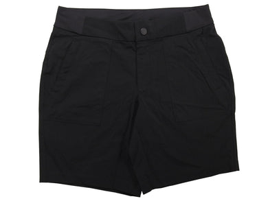 Active Life Womens Size Small Stretch Nylon Comfort Waist Shorts, Black