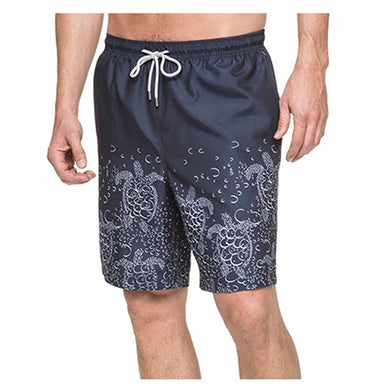 a08e50db1f1b5 Kirkland Signature Men's Size Large Swim Short, Bubble Turtles