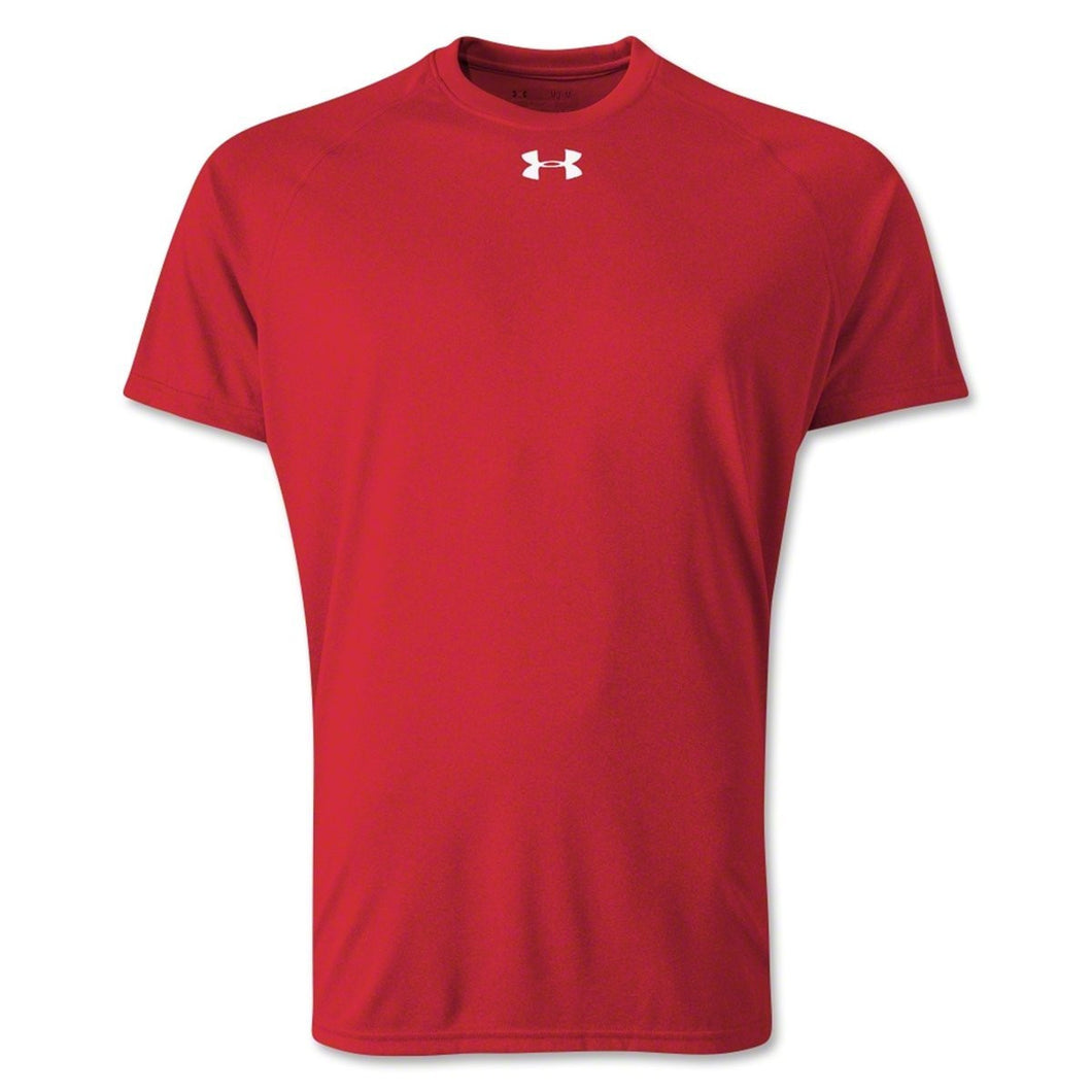 Under Armour Mens Size Large Loose Heat Gear T-Shirt, Red