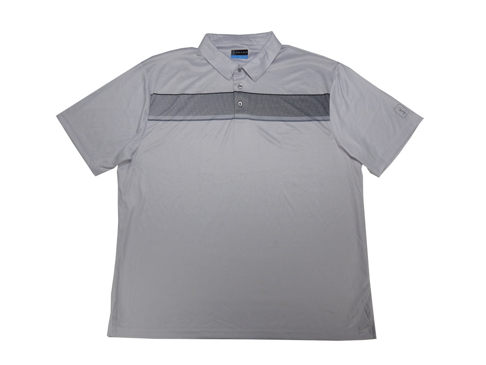 PGA Tour Mens Size Large Performance Golf Polo, Micro Chip