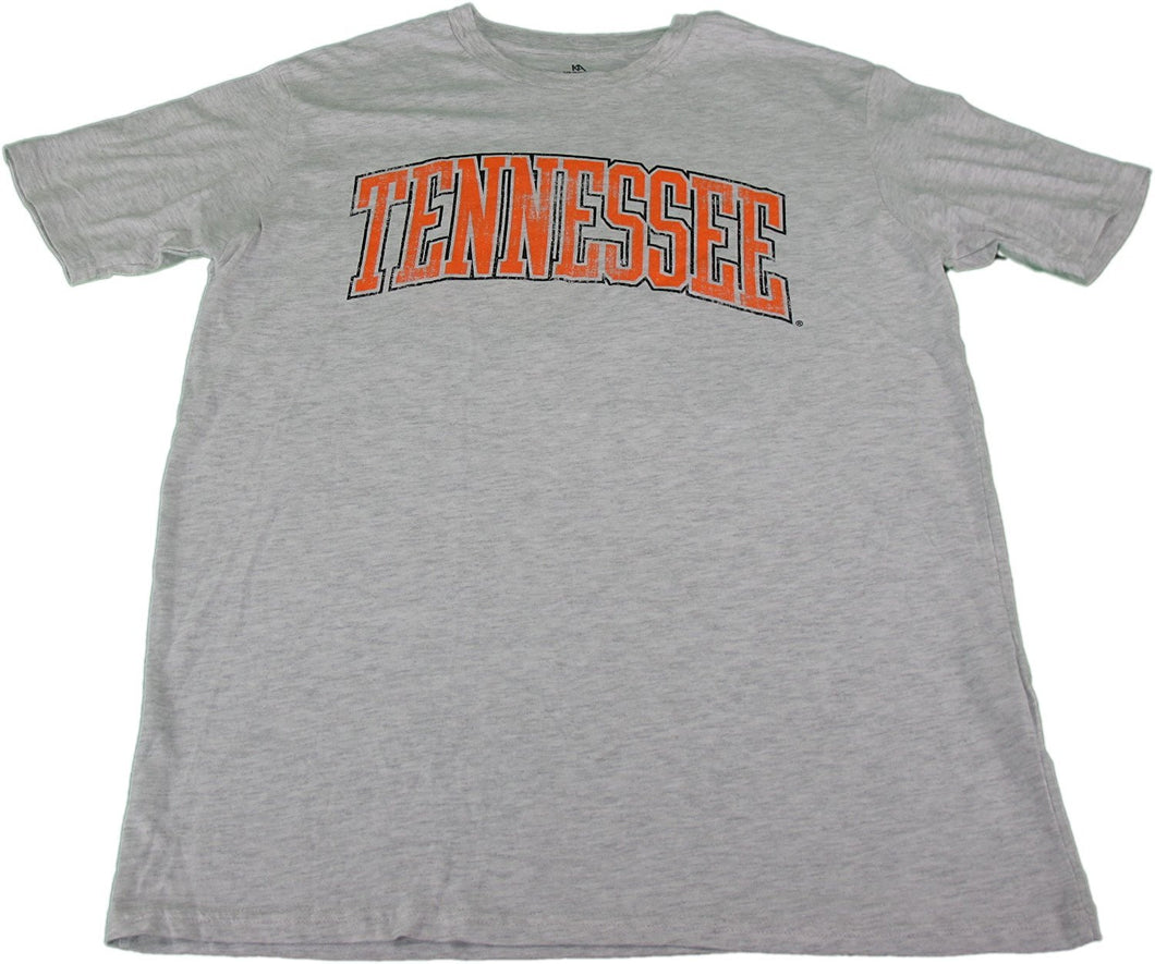 Knights Apparel Men's Size Large Smokey Mascot T-Shirt Light Gray & Orange