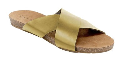 Espirit Bounty Footbed Womens Size 6 Sandals, Gold