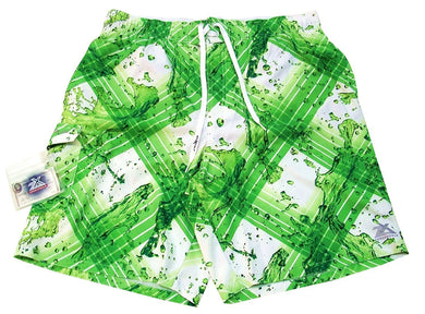 Zeroxposur Men's Size 2X-Large Swim Trunks/Board Shorts, Green Wash