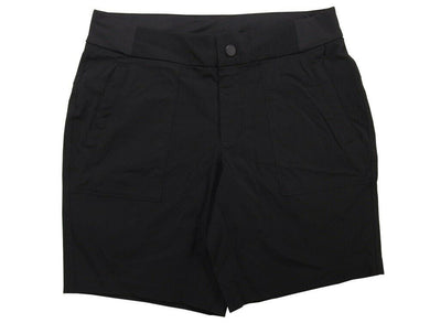 Active Life Womens Size Large Stretch Nylon Comfort Waist Shorts, Black