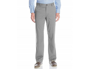 Dockers Mens Size 32 x 32 Straight Fit Washed Khaki Pants, Burma Grey
