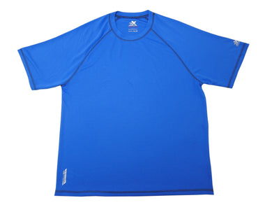 ZeroXposur Mens Size X-Large Quick-Dry UPF 50+ Performance Shirt, Lake Blue