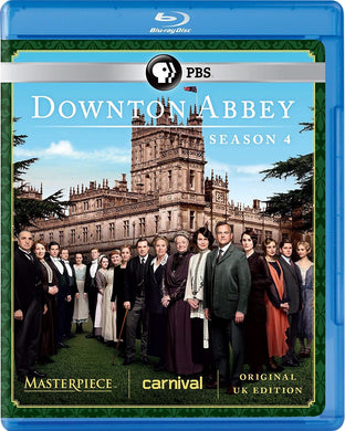 Masterpiece Classic: Downton Abbey, Season 4 Blu-ray Disc