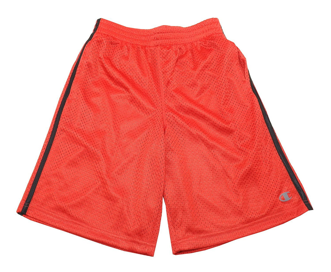 Champion Boys Size 14/16 Mesh Shorts, Red