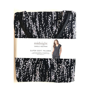 Carole Hochman Midnight Ladies 2-piece Pajama Set