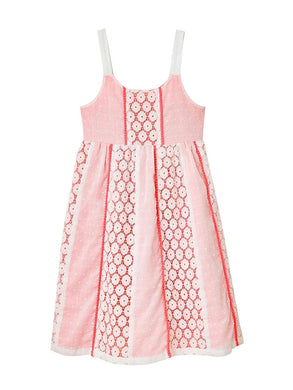 Penelope Mack Girls Sleevelss Sundress, Coral