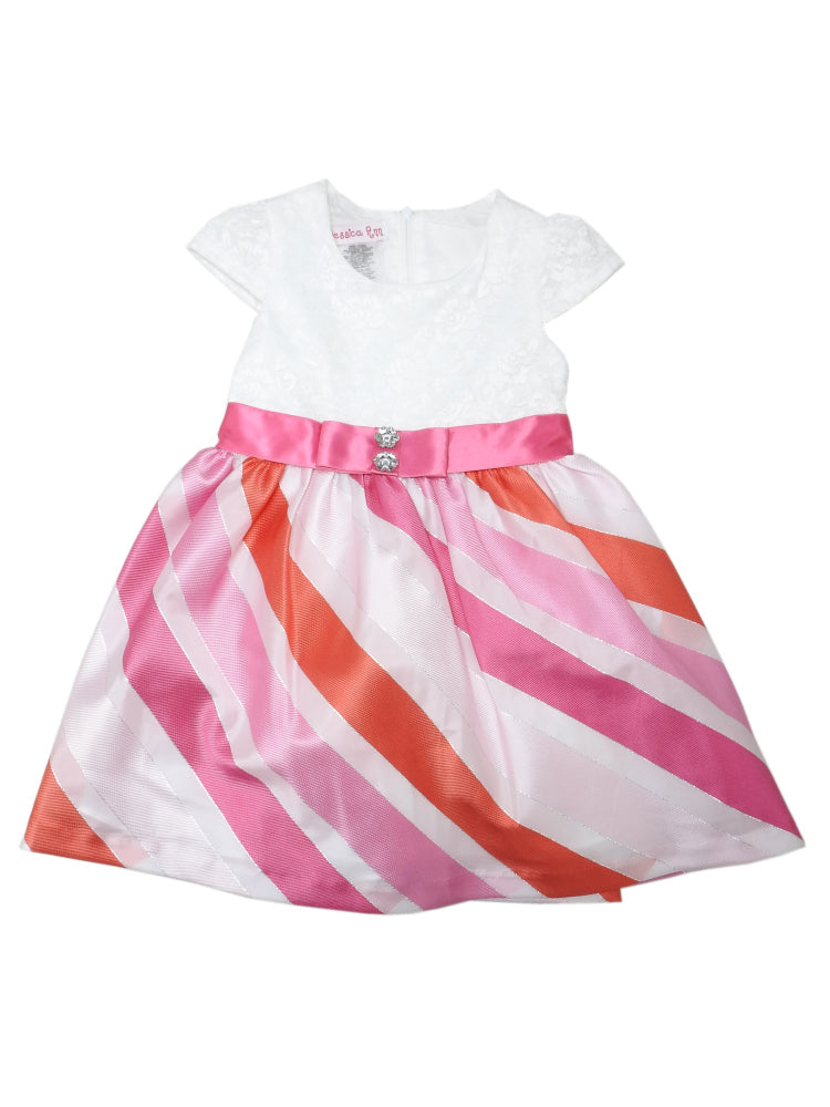 Jessica Ann Baby Girls Size 18 Months Special Occasion Dress, Coral