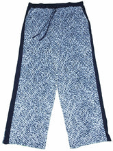 DKNY Womens Size 2X-Large Velour 2-Pack Pajama Pants, Blue Abstract/Diamond Geo