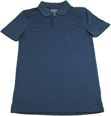 Arrow Boys Size Large (12/14) Approved Schoolwear, Easy Care S/S Polo, Navy