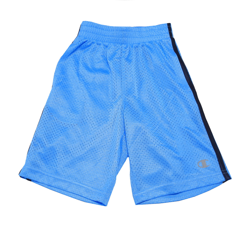 Champion Boys Authentic Athletic Mesh Shorts, Hydro Blue