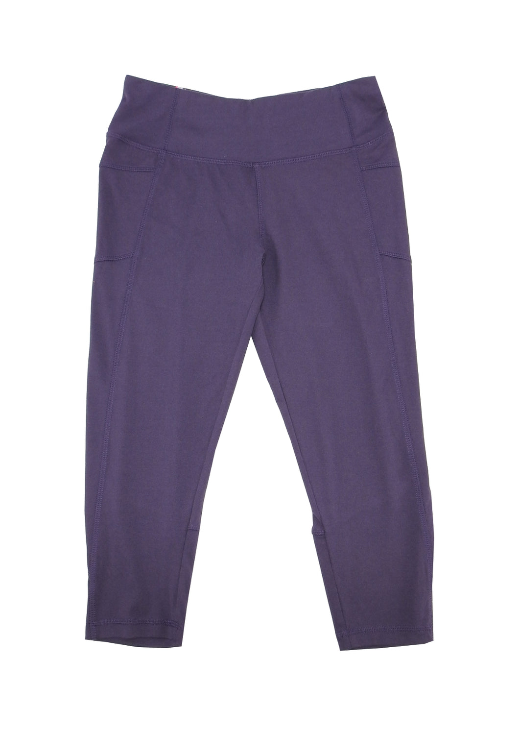 Marika Tek Women's Size Small (4-6) Performance Fitted Capri, Purple