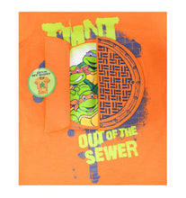 Nickelodeon Boys Teenage Mutant Ninja Turtles TMNT Shirt/Shorts 2-Pc Set, Orange