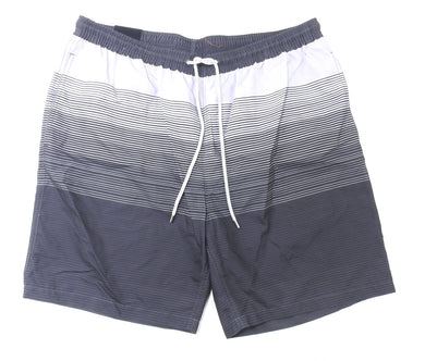 Kirkland Signature Men's Swim Trunks, Ombre Mcrostrp