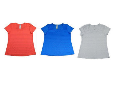 (3-Pack) Active Life Womens Performance Moisture Wicking T-Shirts