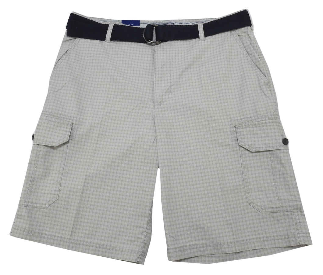 IZOD Mens Size 38 Flat Front Cargo Shorts, High Rise