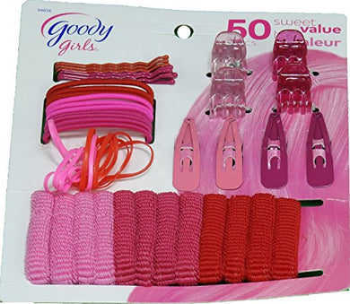 (Set of 4) Goody Girls on the Run Sweet Value Pack (50 Pieces) - Pink