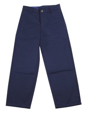 Arrow Boys Size 10 Approved Schoolwear Adjustable Waist Pant, Navy