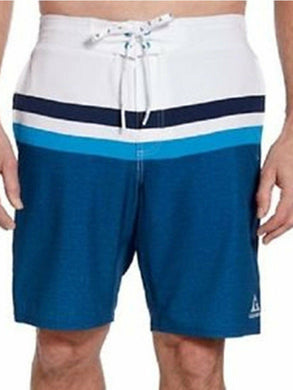 Gerry Mens Quick Dry Performance UPF 50+ Stretch Fabric Swim Shorts, Scuba X-Dye