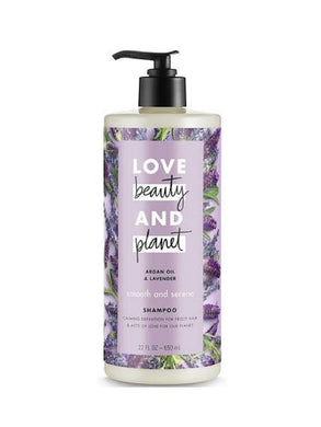 (4-Pack) Love beauty AND planet Argan Oil & Lavender Smooth and Serene Shampoo