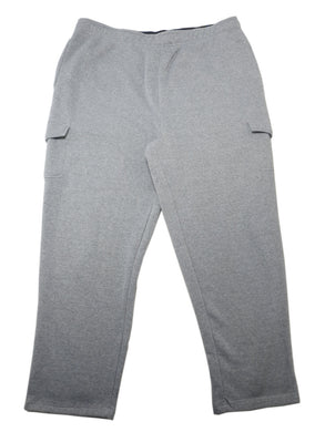 Member's Mark Mens Size Small Sweatpants Ultimate Fleece Cargo Pant, Grey