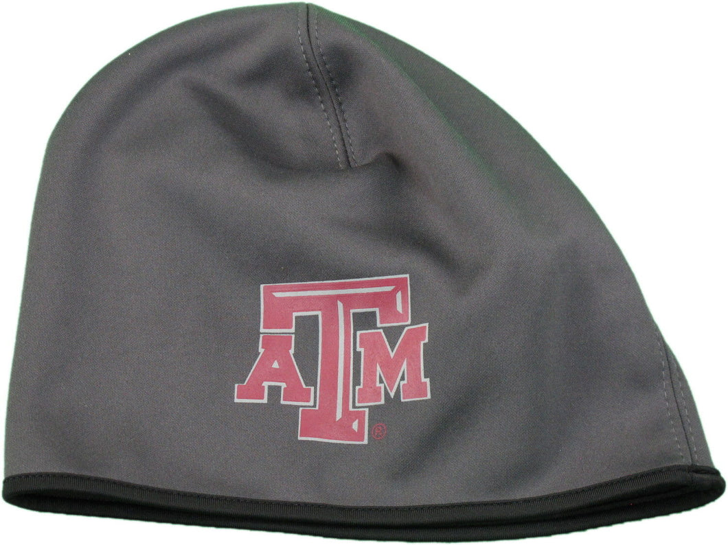 Captivating Head Gear Texas A&M On-Field Uncuffed Beanie, Dark Grey