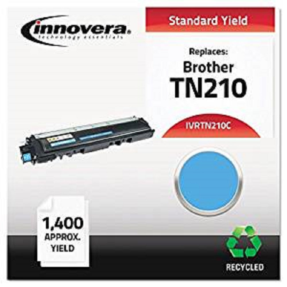 Innovera Technology Essentials TN210 Color Laser Toner, Cyan