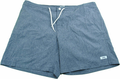 Trunks Surf & Swim Co. Men's Beach Street Quick Dry Swim Trunks, Navy Heather