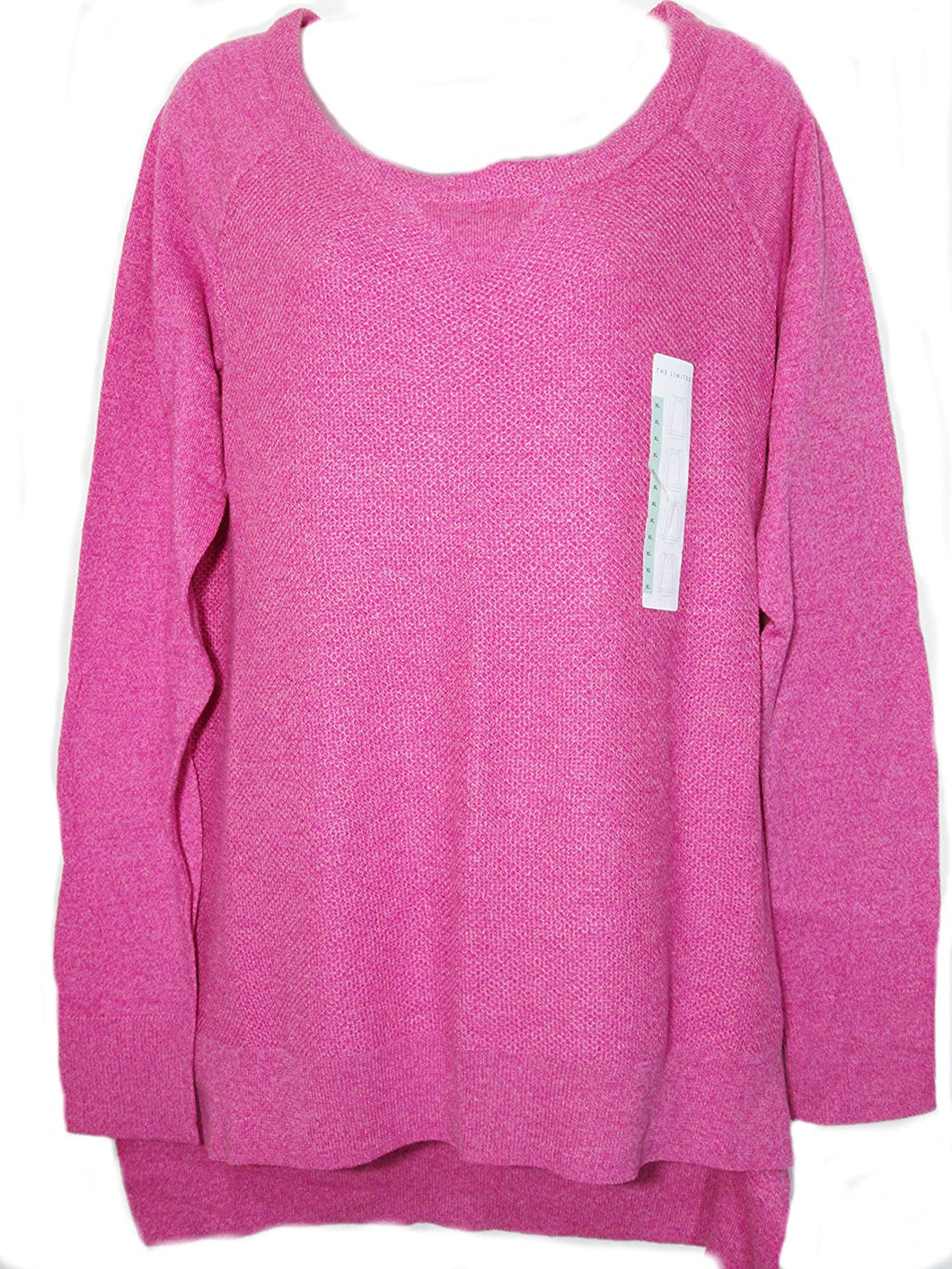 The Limited Womens Size X-Large Lightweight Sweater, Fluorescent Pink