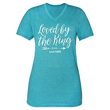 Simply Faithful Loved By The King Tee