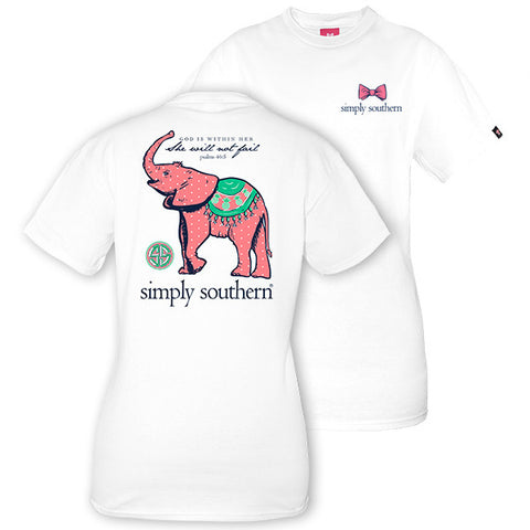 Simply Southern Baby Elephant Tee