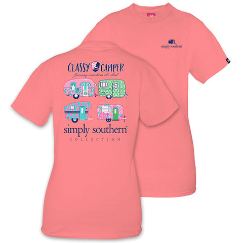 Simply Southern Classy Camper Tee