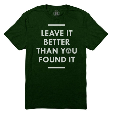 Parks Project Leave It Better Mens T-Shirt