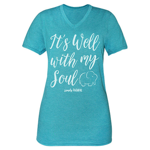 Simply Faithful It's Well With My Soul Tee